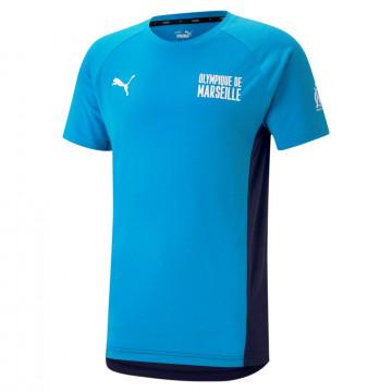 T-shirt OM bleu blanc 2020/21