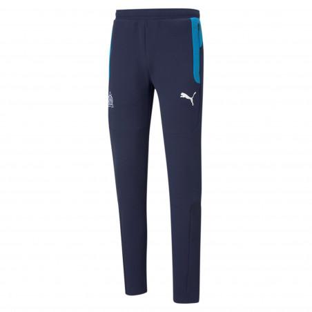 Pantalon survêtement OM Evostripe bleu 2020/21
