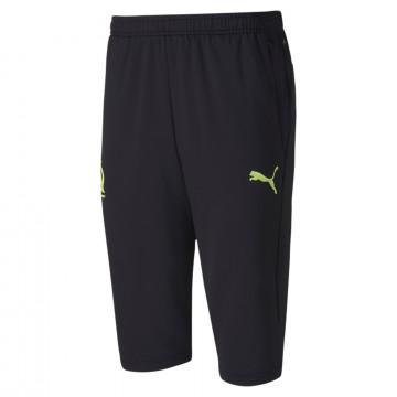 Pantalon survêtement 3/4 OM noir jaune 2020/21