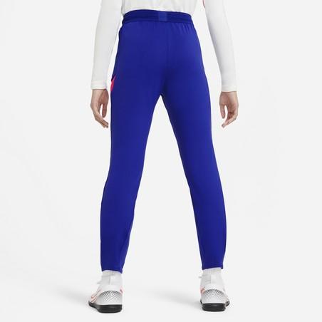 Pantalon survêtement junior Chelsea bleu rouge 2020/21