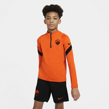 Sweat zippé junior AS Roma orange 2020/21
