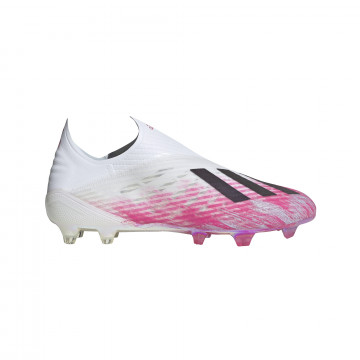 adidas X 19+ FG blanc rose