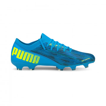 Puma Ultra 3.2 junior FG/AG bleu jaune