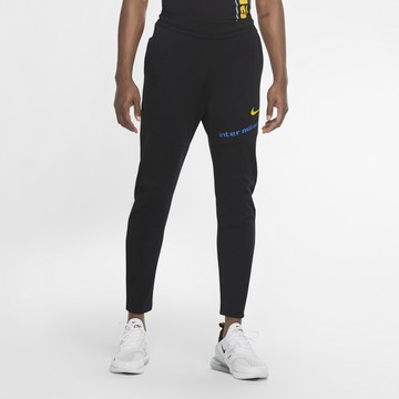 Pantalon survêtement Inter Milan TechPack noir 2020/21