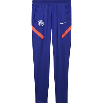 Pantalon survêtement junior Chelsea bleu rouge 2020/21