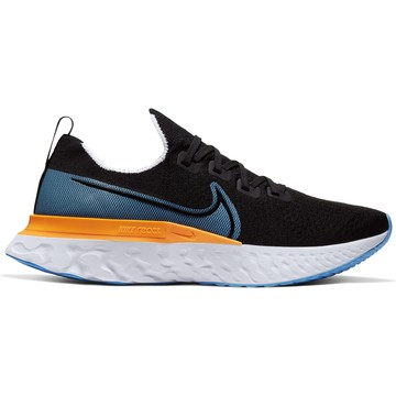 Nike Epic Pro React Flyknit bleu orange