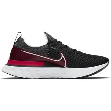 Nike React Infinity Run Flyknit noir rouge