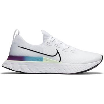 Nike Epic Pro React Flyknit blanc