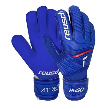 Gants gardien Reusch junior Attrakt Solid Hugo Lloris bleu