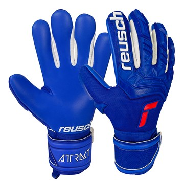 Gants gardien Reusch junior Attrakt Freegel Silver bleu