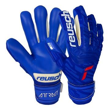 Gants gardien Reusch Attrakt Freegel Gold Finger Support bleu