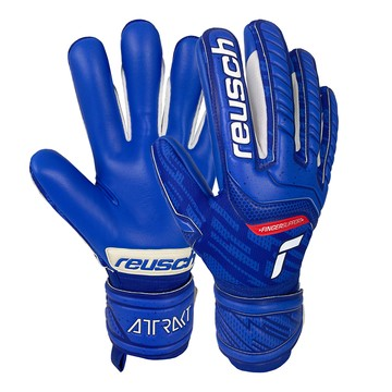 Gants gardien Reusch Attrakt Grip Evolution Finger Support bleu