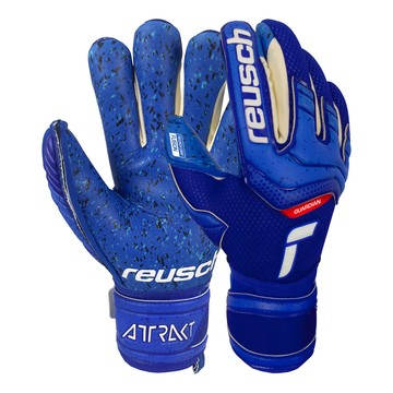 Gants gardien Reusch junior Attrakt Fusion Guardian bleu
