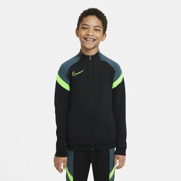 Veste survêtement junior Nike Academy noir vert
