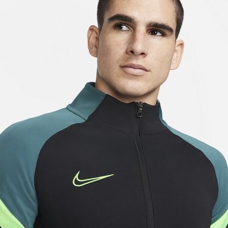 Veste survêtement Nike Academy noir vert