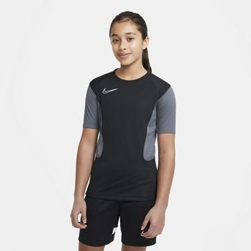 Maillot entraînement junior Nike Academy noir gris