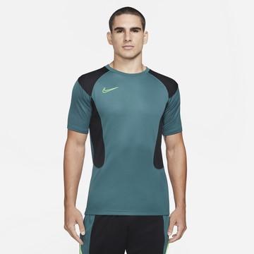 Maillot entraînement Nike Academy bleu noir