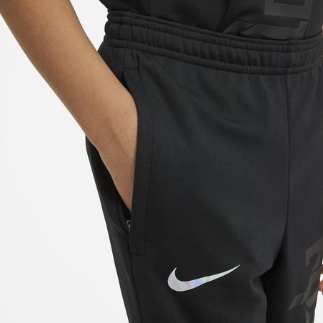 Pantalon survêtement junior Nike Mbappé noir violet