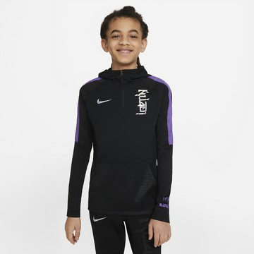 Sweat zippé junior Nike Mbappé x Lebron noir violet 2020/21