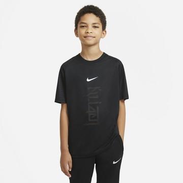 Maillot entraînement junior Nike Mbappé noir violet