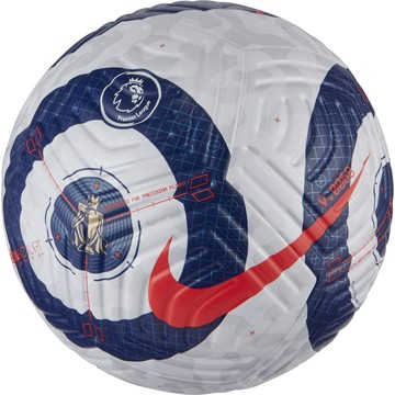 Ballon Nike Premier League officiel blanc bleu 2020/21