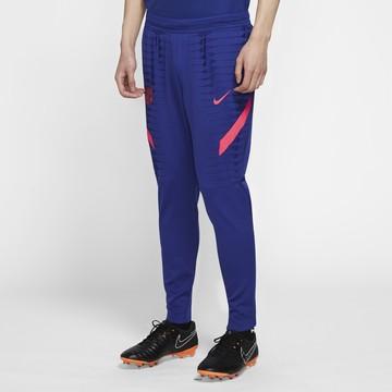 Pantalon survêtement FC Barcelone Vaporknit bleu rouge 2020/21
