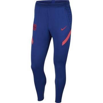 Pantalon survêtement FC Barcelone bleu rouge 2020/21