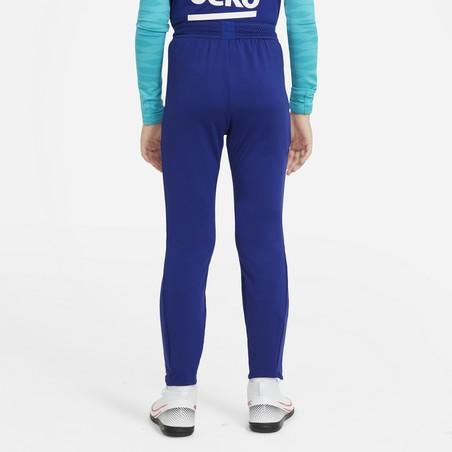 Pantalon survêtement junior FC Barcelone bleu rouge 2020/21