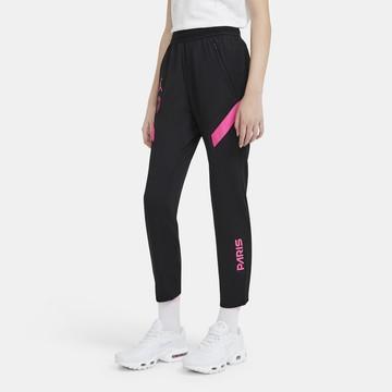 Pantalon survêtement junior PSG noir rose 2020/21