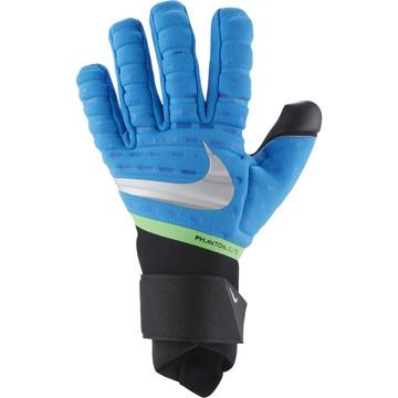 Gants gardien Nike Phantom Elite bleu noir