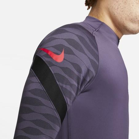 Sweat zippé Nike Strike violet