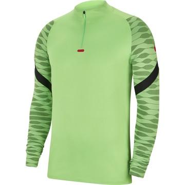Sweat zippé Nike Strike vert