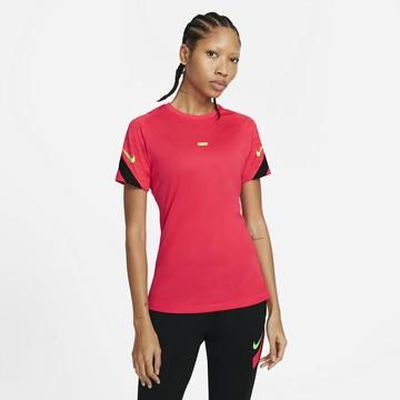 Maillot entraînement Femme Nike Strike rouge