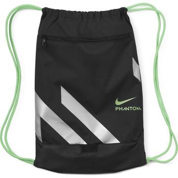Sac de gym Nike Phantom noir vert