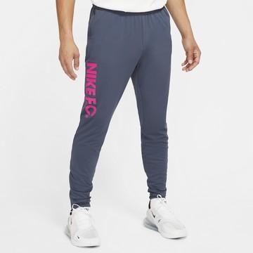 Pantalon survêtement Nike F.C. gris rose