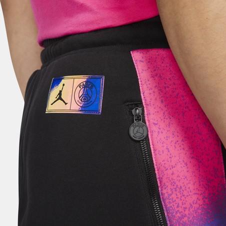 Pantalon survêtement PSG Jordan Fleece Statement noir violet 2020/21
