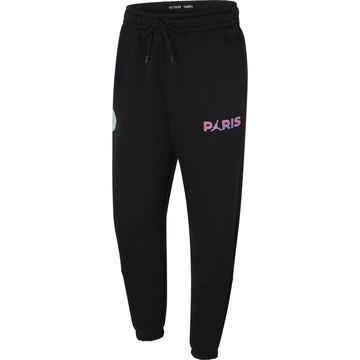 Pantalon survêtement PSG Jordan noir violet 2020/21
