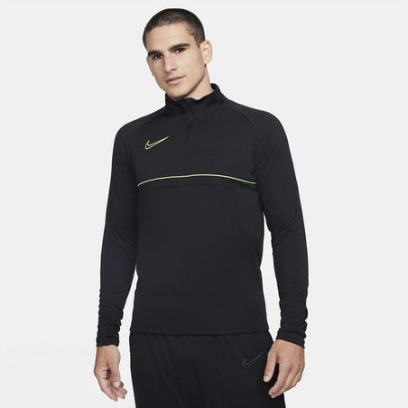 Sweat zippé Nike Academy noir vert