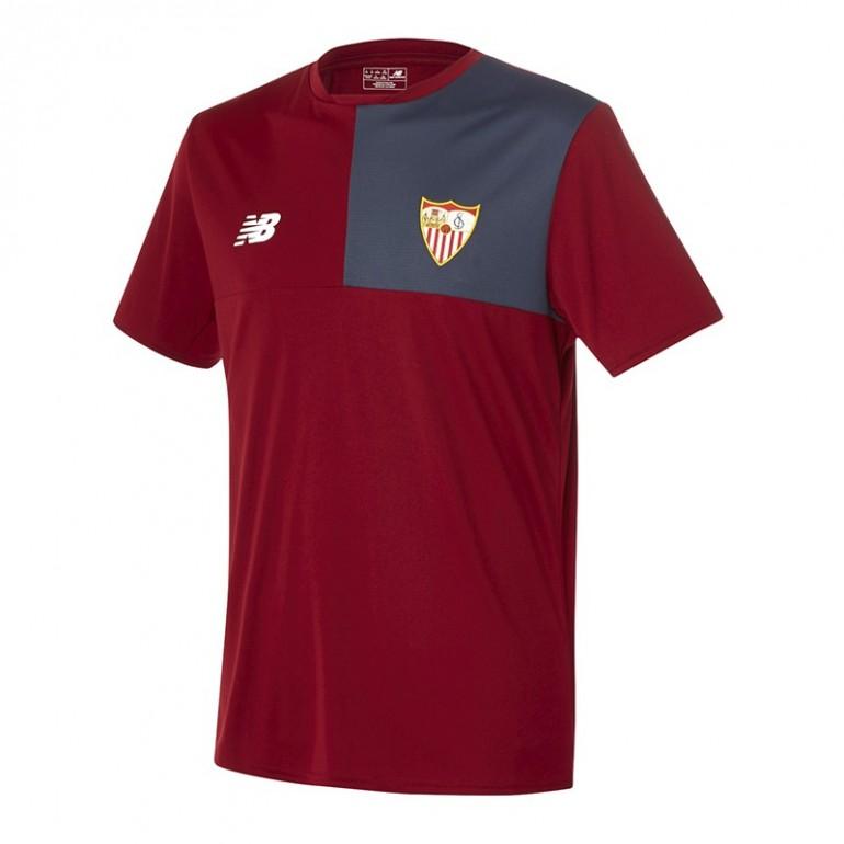 Maillot entraînement FC Séville rouge 2016 - 2017