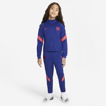 Ensemble survêtement enfant FC Barcelone bleu rouge 2020/21