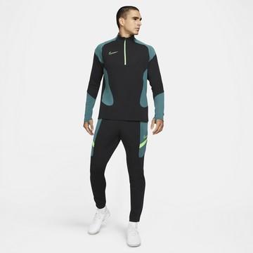 Ensemble survêtement sweat Nike Academy noir vert