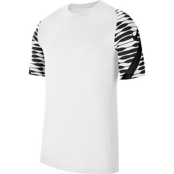 Maillot entraînement Nike Strike blanc noir
