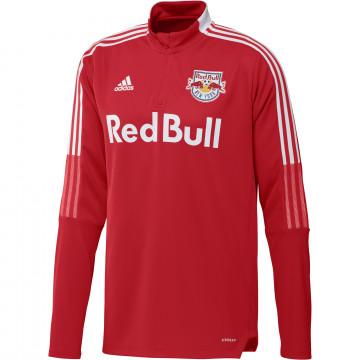 Sweat zippé NewYork RedBull rouge 2021
