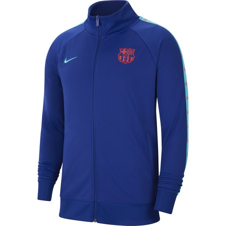 Veste survêtement FC Barcelone JDI bleu 2020/21