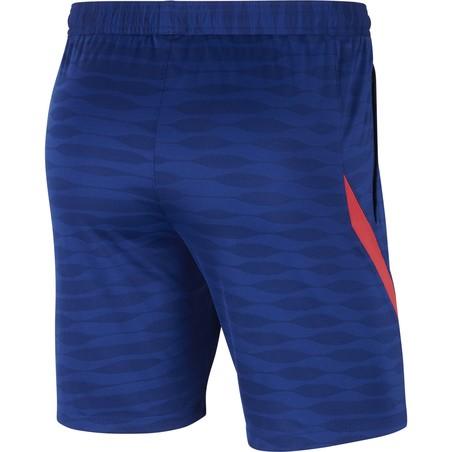 Short entraînement FC Barcelone bleu rouge 2020/21
