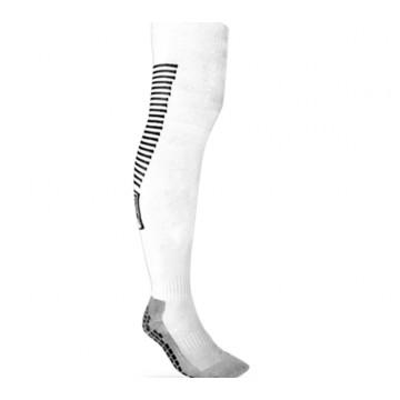 Chaussettes hautes antidérapantes MC Protech blanc
