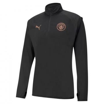 Sweat zippé Manchester City Fleece gris 2020/21