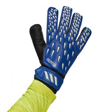Gants gardien adidas Predator Training bleu blanc
