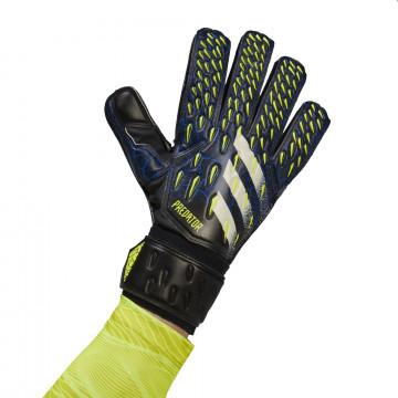 Gants gardien adidas Predator Match noir bleu
