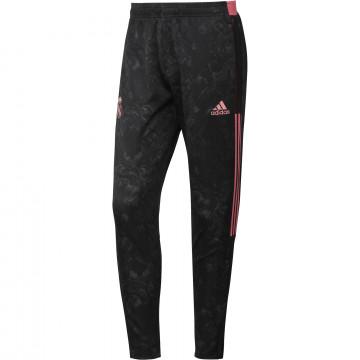 Pantalon survêtement Real Madrid AOP noir rose 2020/21